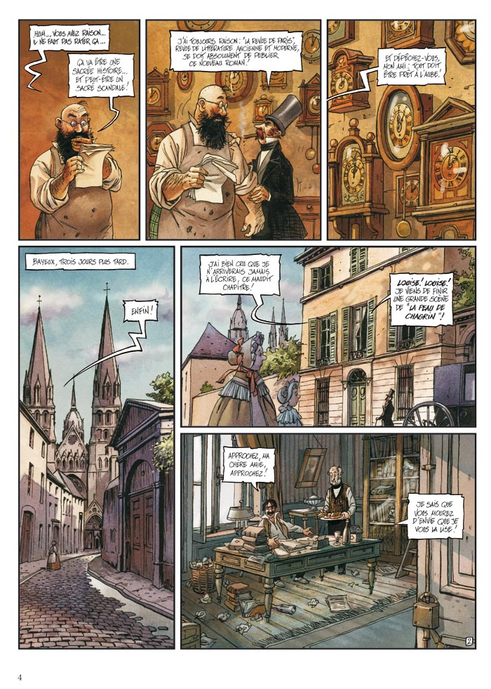 Abymes, planche du tome 1