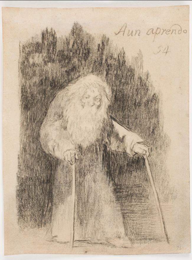 Aún aprendo de Goya