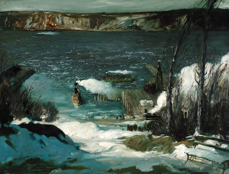 3 North River de George Wesley Bellows