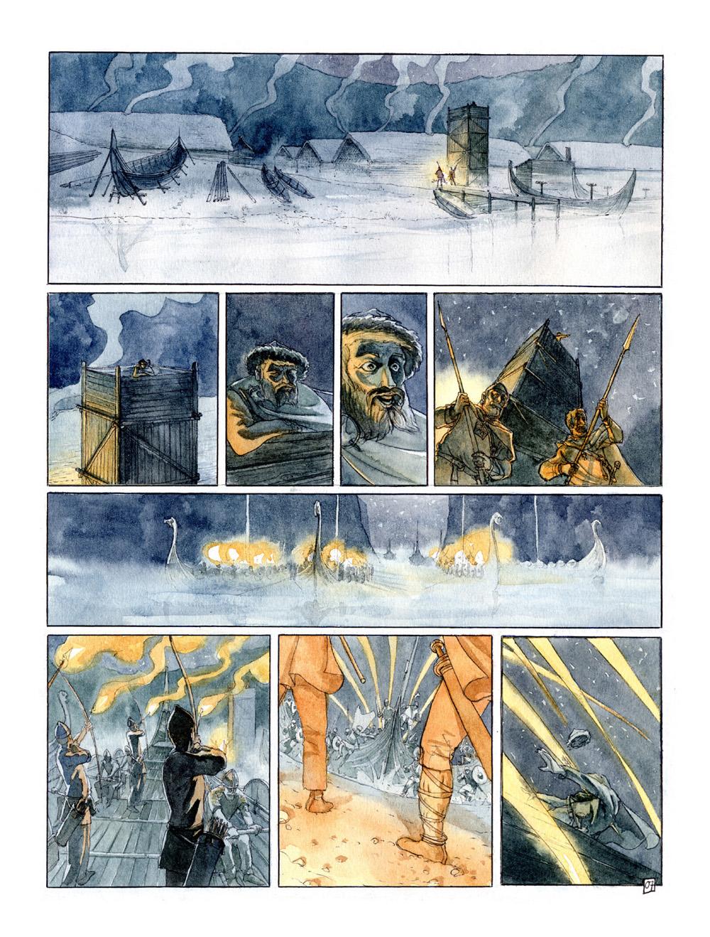 Planche 7 du tome 1, version couleur ©Benoît Blary
