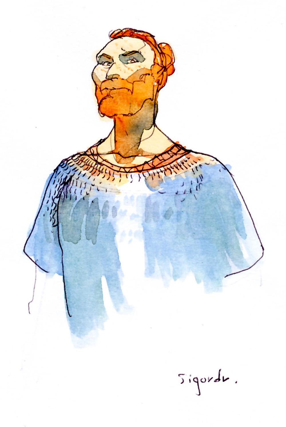 Sigurd & Vigdis, Sigurd © Benoît Blary