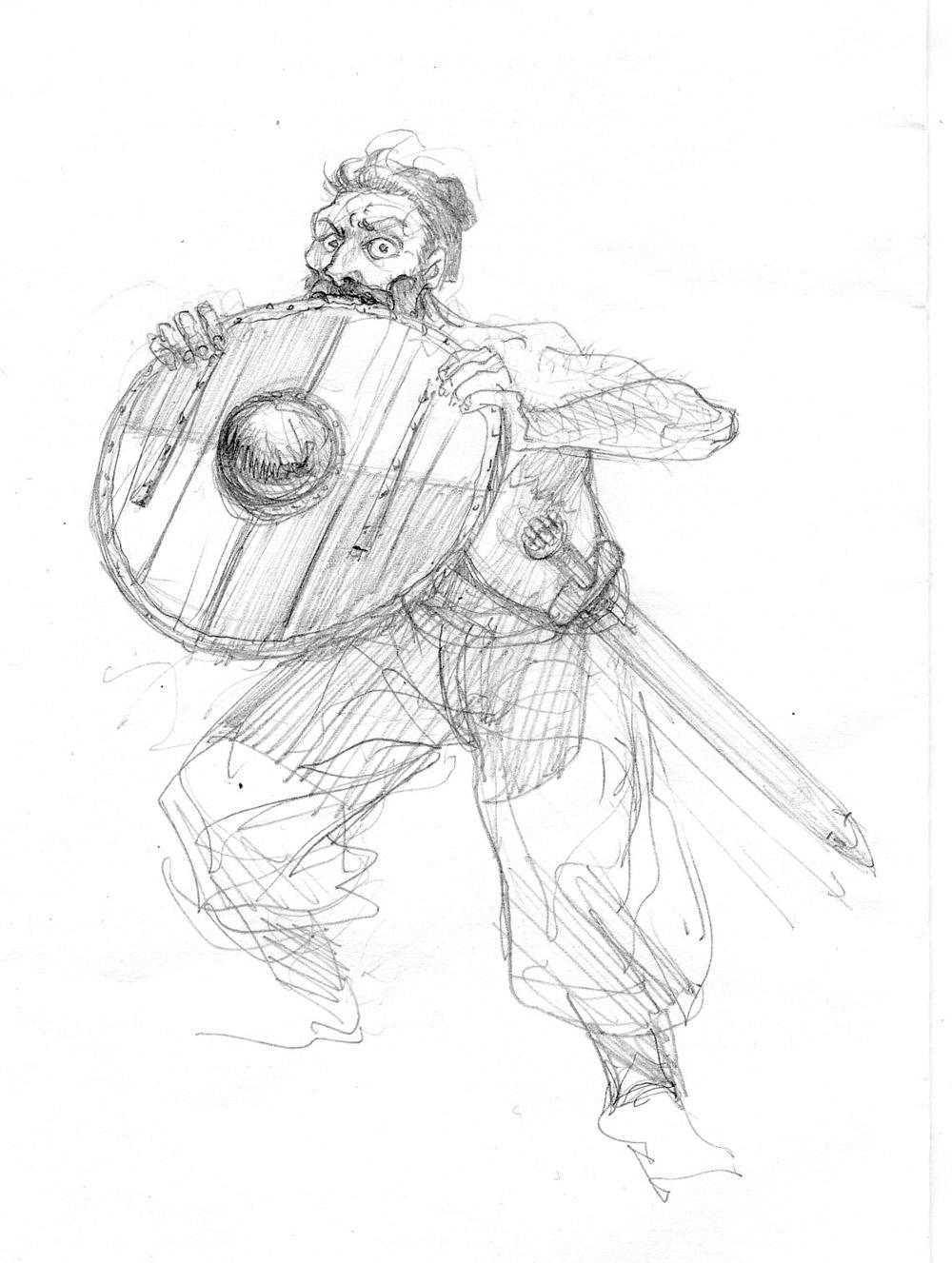 Sigurd & Vigdis, Sigurd Berserker © Benoît Blary