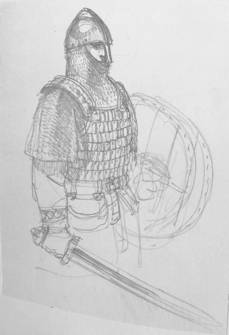 Sigurd & Vigdis, viking © Benoît Blary