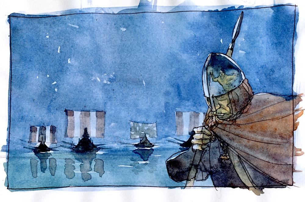 Sigurd & Vigdis, visite nocturne © Benoît Blary