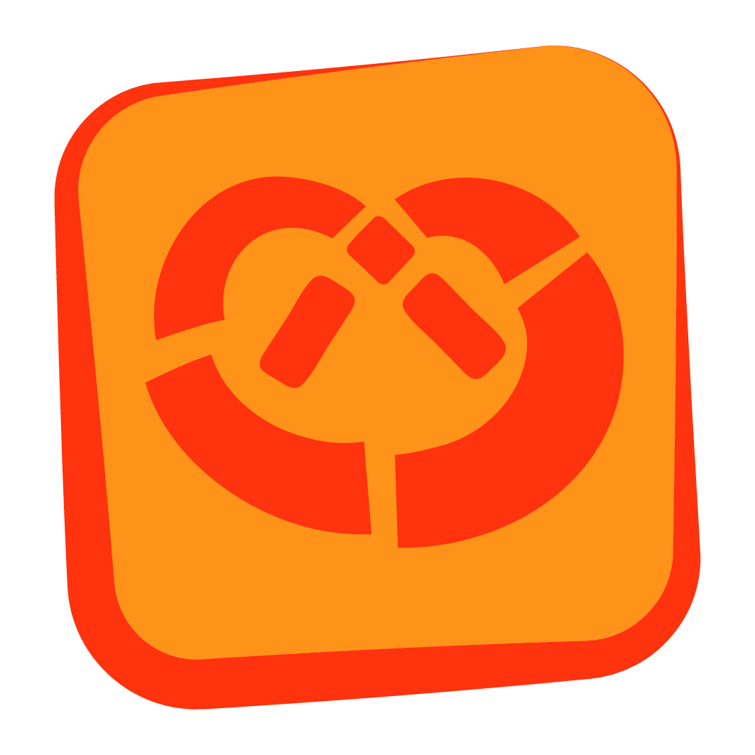 des Bretzels et des Jeux, le logo de la manifestation, signé Damien Bechler
