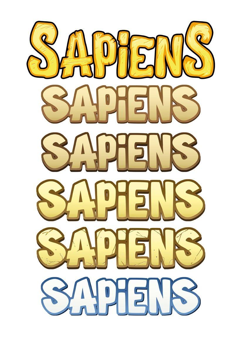 Sapiens, la typo © Catch Up Games