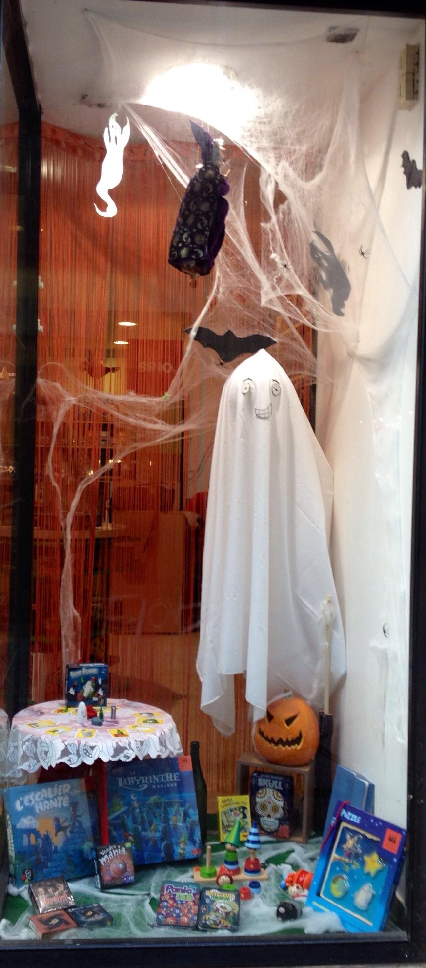 pour Halloween, les Sorcières ont élu domicile au Chapeau Enchanté