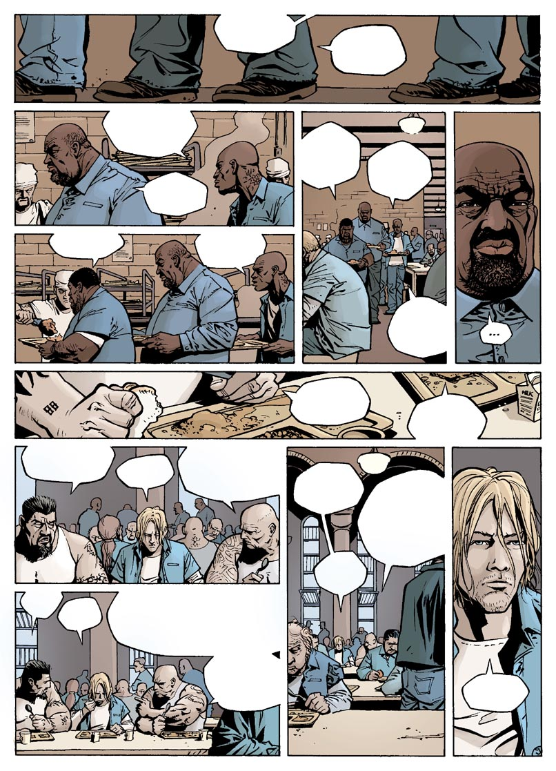 Colorisation page 9 de Soul Man ©Delcourt /  <br />
