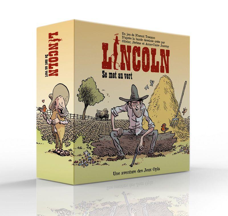 Lincoln, la boîte du jeu