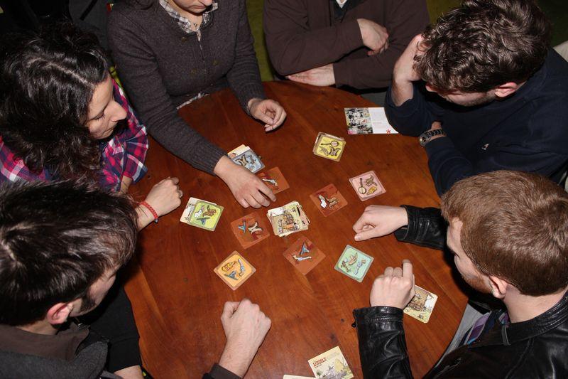 Lincoln, une partie à 6 joueurs
