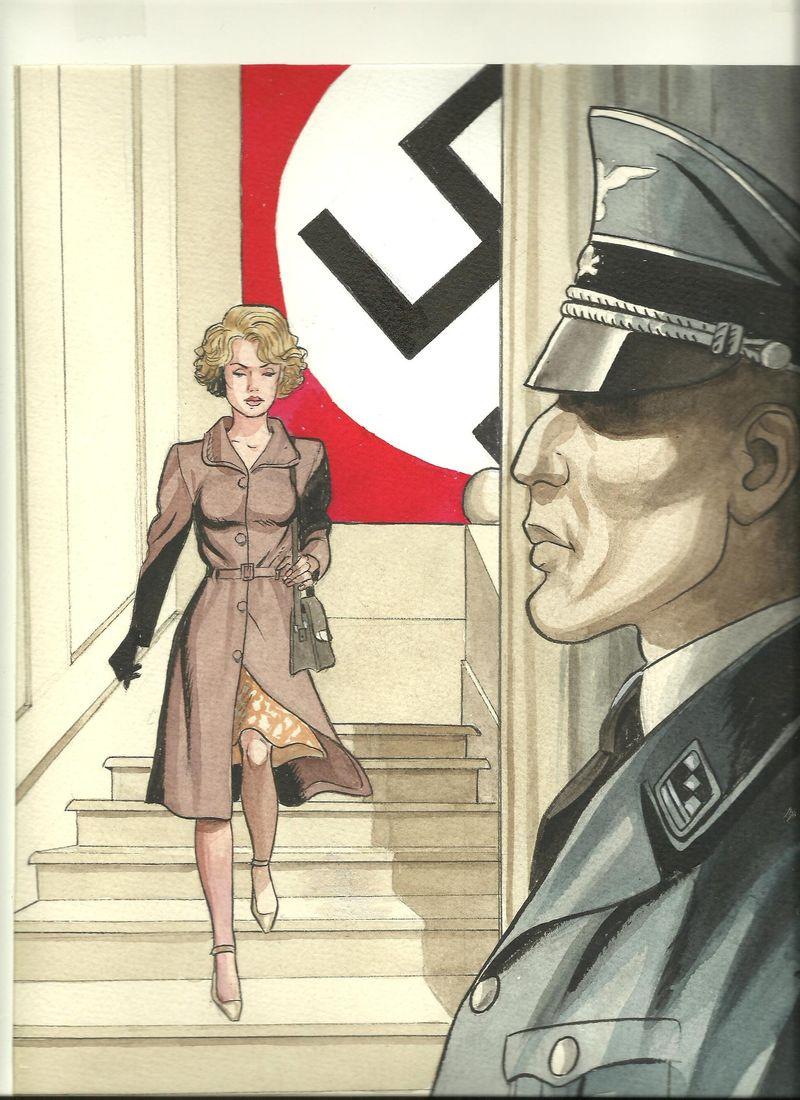 illustration pour la couverture du tome 1 © Gihef