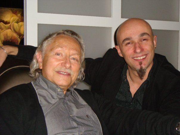 Renaud et Gihef, dessinateur et scénariste d&#39Encre et de Sang