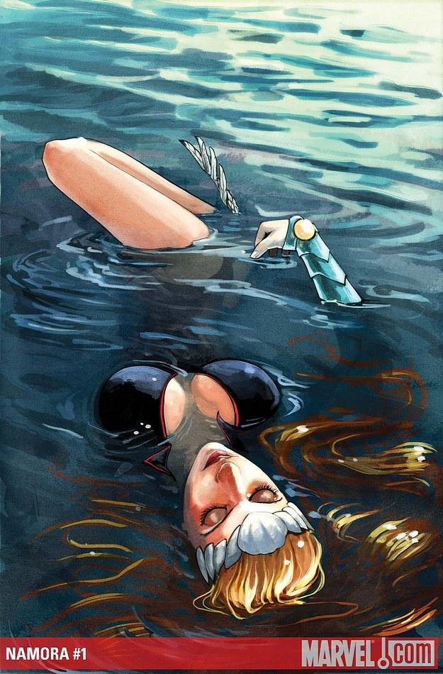 Couverture de Namora© Marvel / Stéphanie Hans