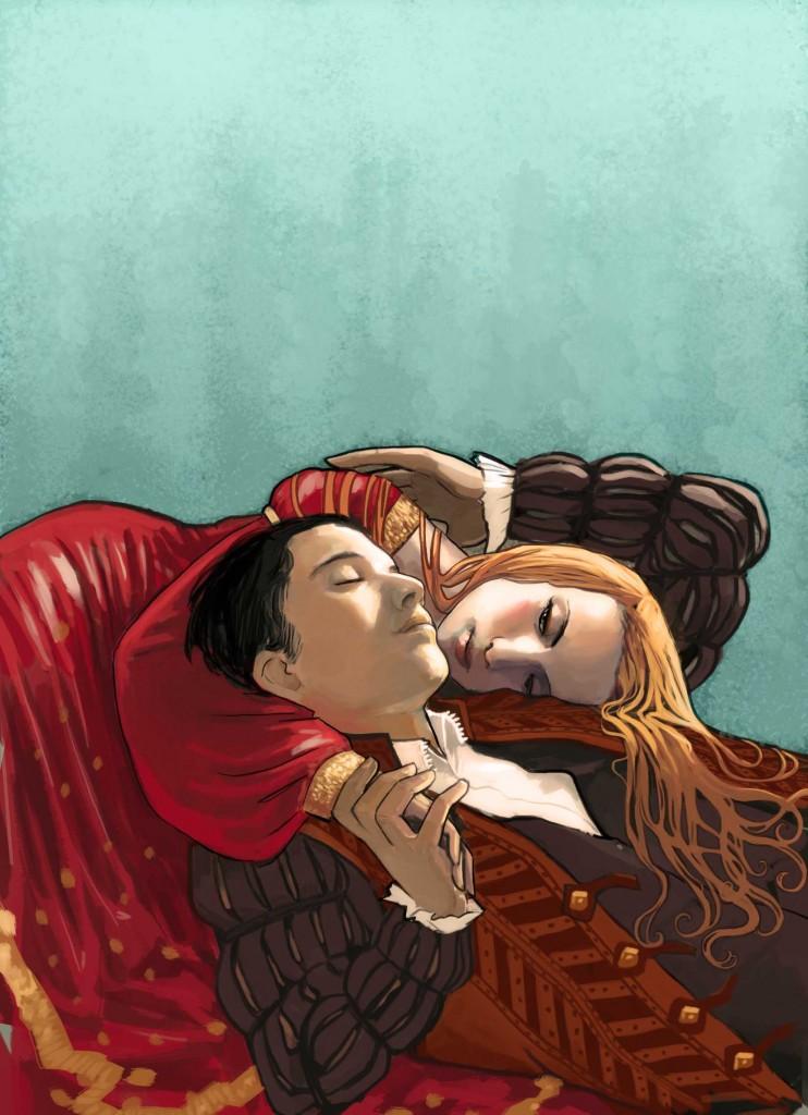 Couverture de Roméo et Juliette © Dupuis/ Stéphanie Hans