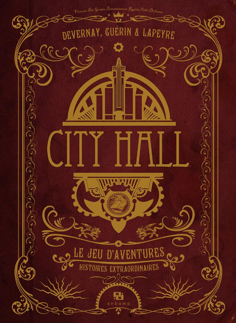 City Hall, le jeu d'aventure, le livre de base