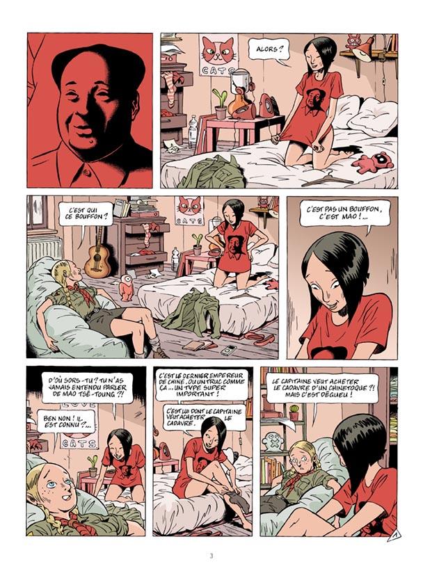 le sourire de Mao, planche de l