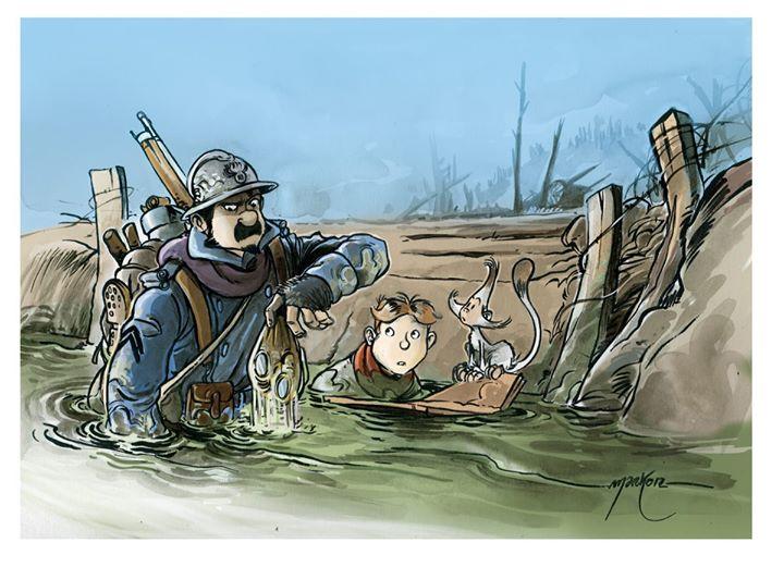 Les Godillots,Illustration © Marko