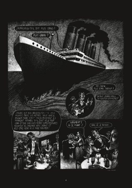 La Malédiction du Titanic, planche
