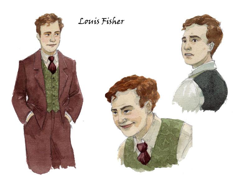 Recherches sur Louis Fisher ©Marie Terray