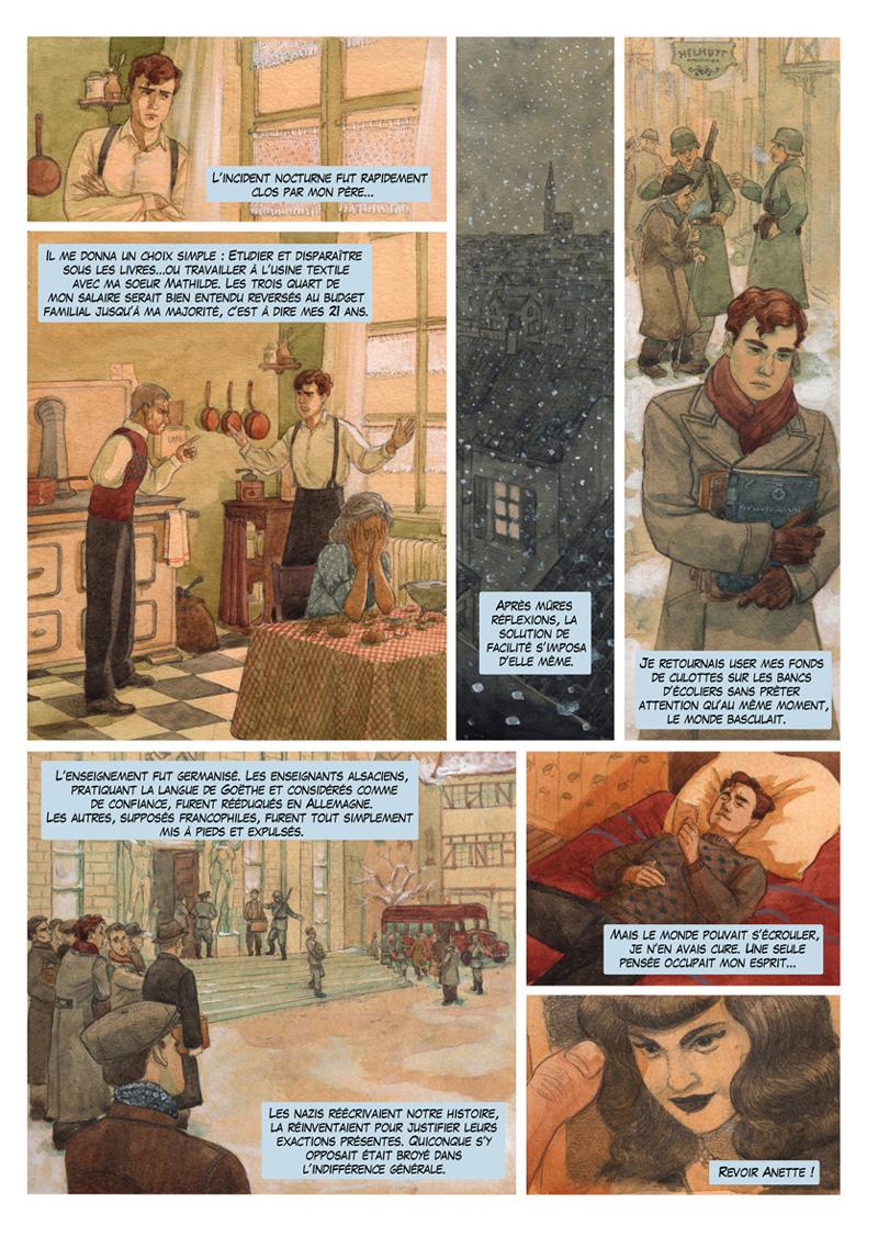 Planche colorisée page 20 ©Marie Terray