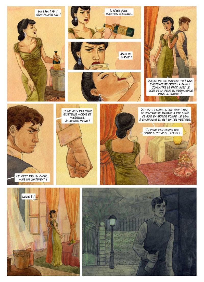 Planche colorisée page 38 ©Marie Terray