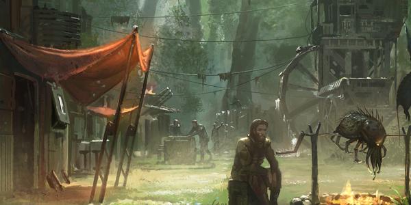 Star Wars : Aux Confins de l'Empire, illustration de Par delà la Bordure