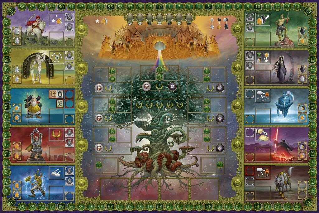 Asgard, le (magnifique) plateau de jeu