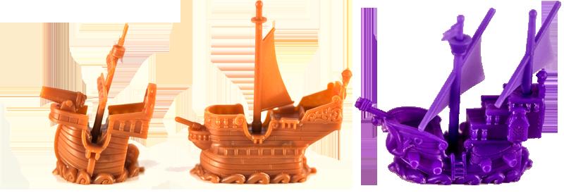 Black Fleet, les navires