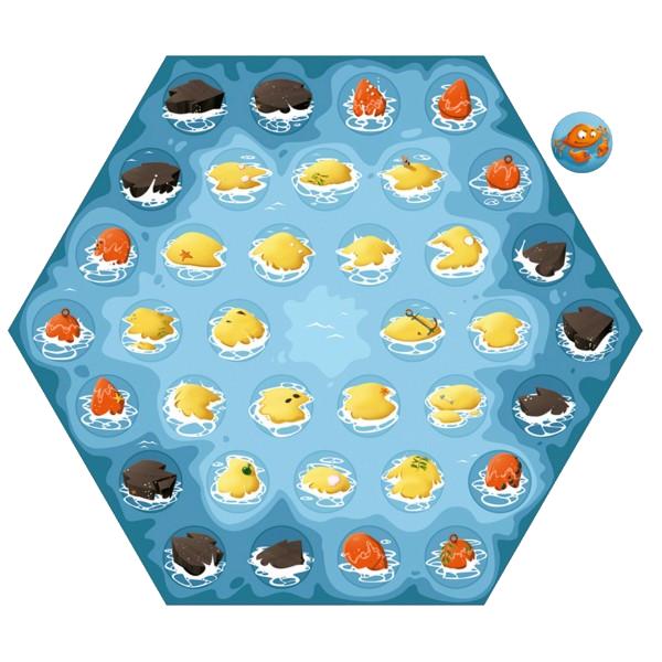 Crabz, le plateau © Blue Orange / Escapa