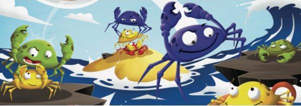 Crabz, illustration de couverture © Blue Orange / Escapa