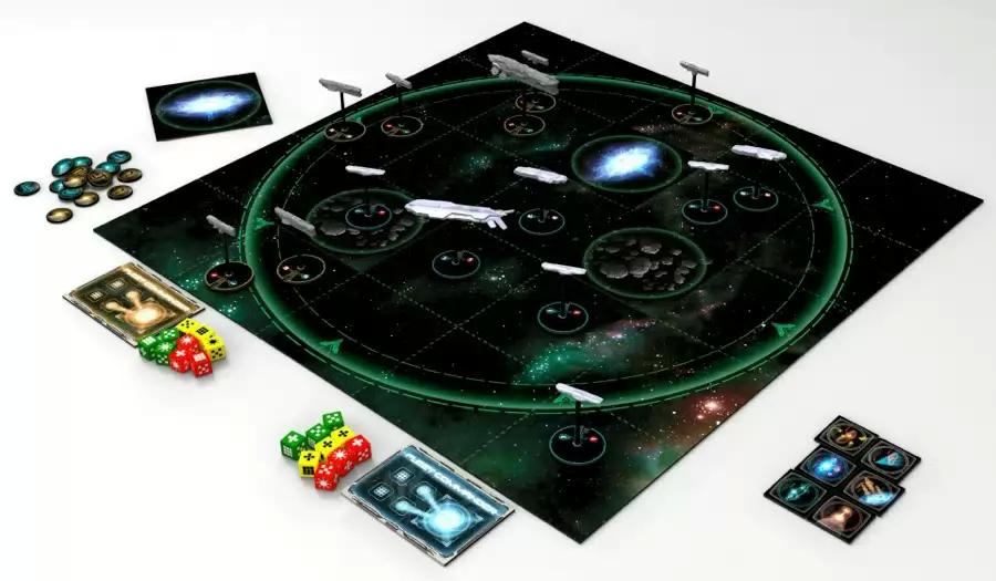 Fleet Commander, apperçu du matériel © Capsicum Games