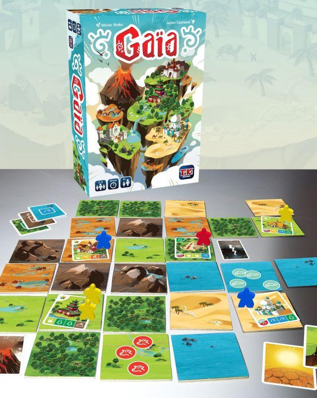 Gaïa, visuel du jeu Ⓒ Blackrock Editions / Castanié / Rolko