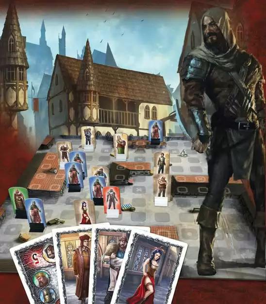 King & Assassins, visuel © Runes Editions