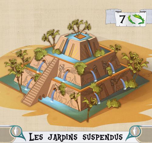 Les Bâtisseurs - Antiquité, carte Monument © Bombyx / Miramon