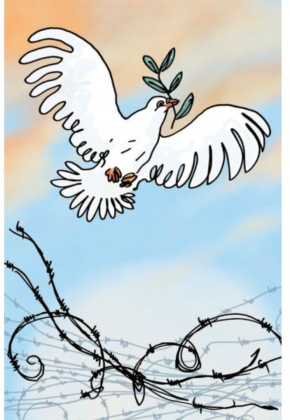 Les Poilus, la colombe de la paix, l'armistice est signée! © Sweet November / Tignous