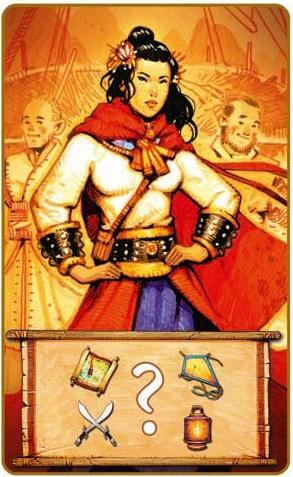 Madame Ching, carte rencontre (Madame Ching)