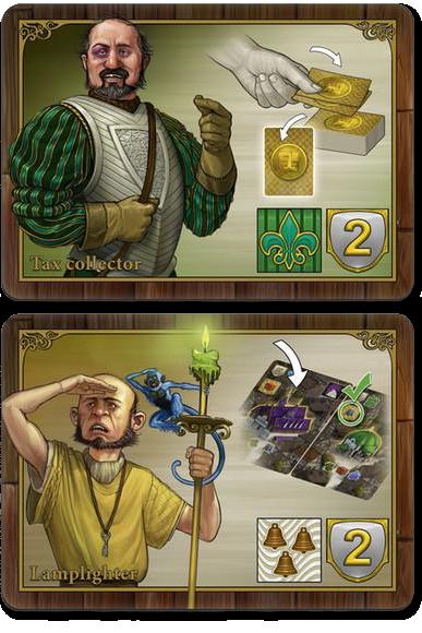Oddville, cartes Guildes Ⓒ Iello