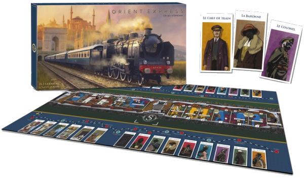 Orient Express, cartes personnage © Les Abeilles