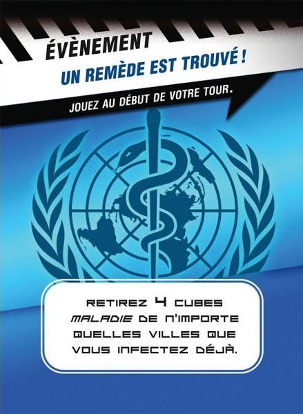 Pandémie : Contagion, une carte OMS © Filosofia
