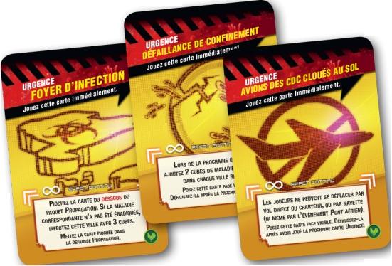 Pandémie - Etat d'urgence, apperçu du matériel © Filosofia / Quilliams