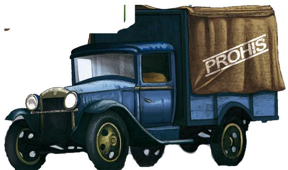 Prohis, illustration du camion © Blackrock / Rochon