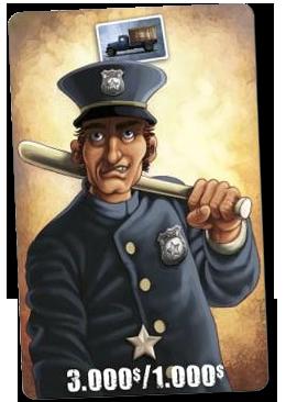 Prohis, un policier zélé (ou corrompu) © Blackrock / Rochon