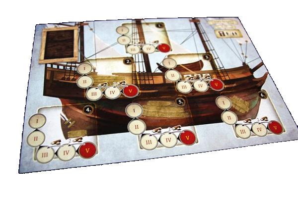 Robinson Crusoé, le Voyage du Beagle, le plateau du navire