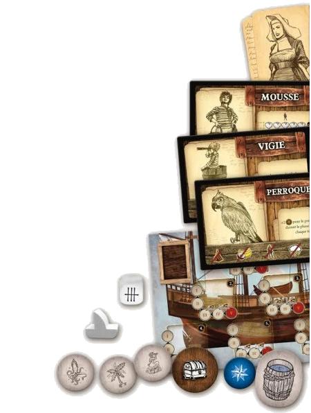Robinson Crusoé, le Voyage du Beagle, le matériel