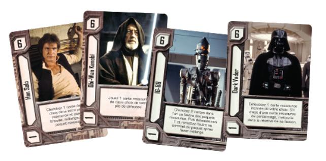 Star Wars : Empire vs Rébellion, cartes du jeu © EDGE