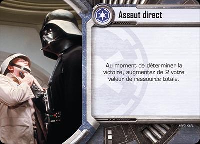 Star Wars : Empire vs Rébellion, exemple de carte Stratégie © EDGE