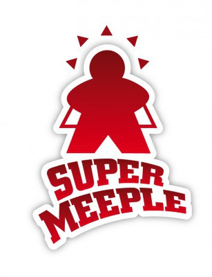 Super Meeple, le logo