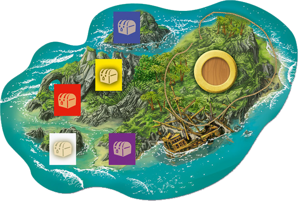 Tortuga, l'île © Queen Games