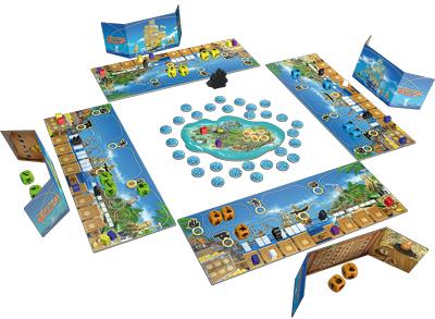 Tortuga, partie en cours © Queen Games