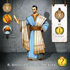 Augustus, carte du jeu